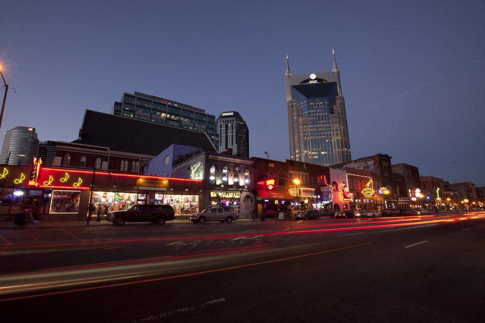Stroll down the block to Nashville's most popular nightlife spots!