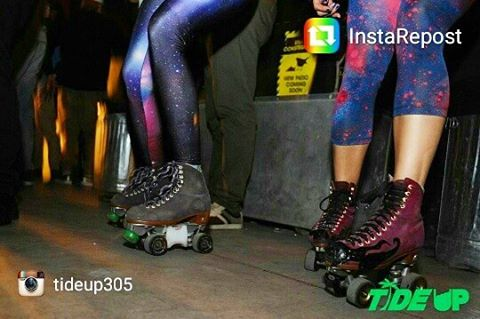 #TBF to that #ladiesnight we entertained for the @tideup305 party at  @blackbirdordinary