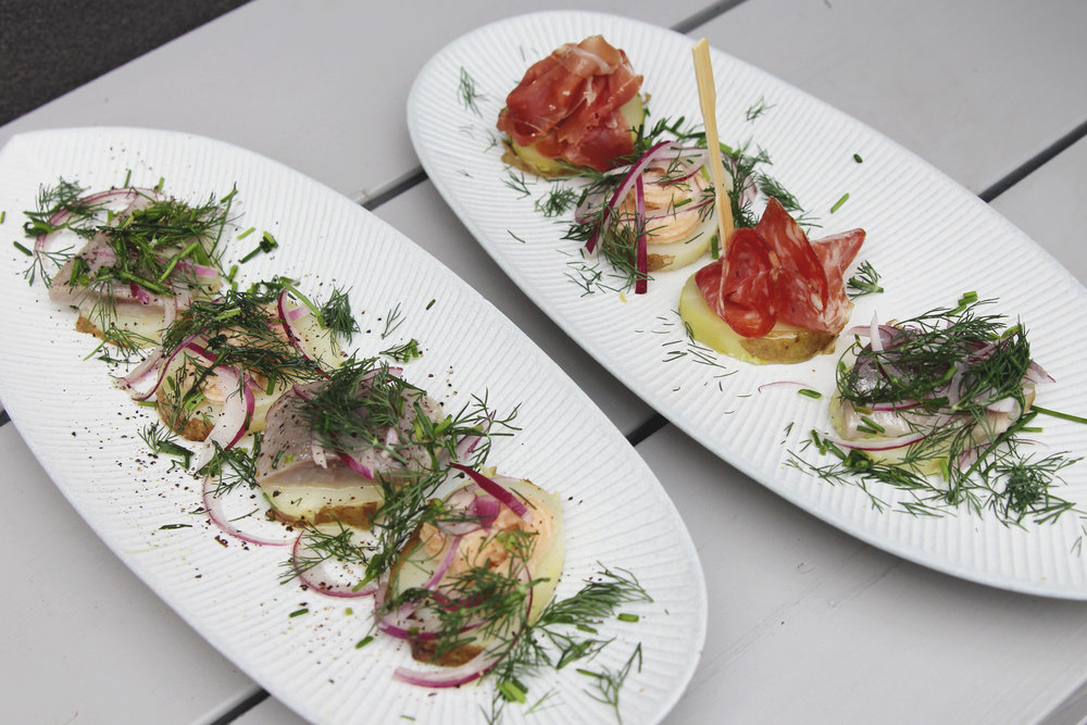 swedish tasting plate