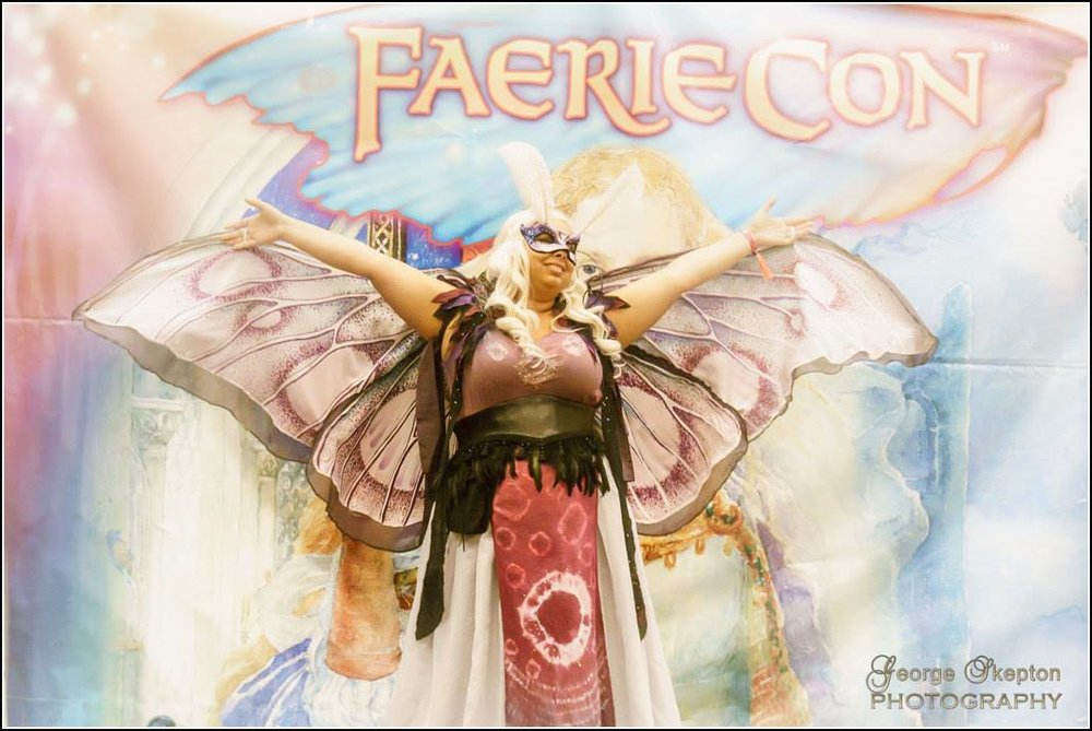 Me at last year's FaerieCon in the costume contest :)