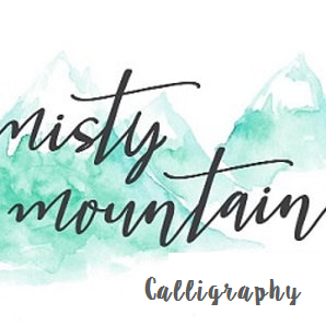 Misty Mountain Calligraphy.png