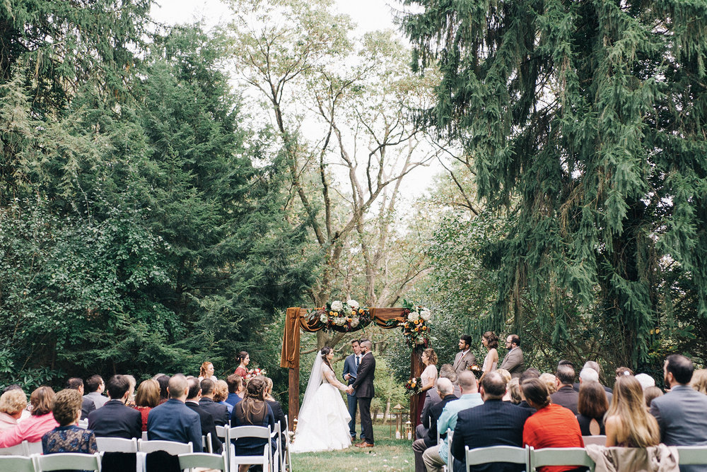 Rustic Wood Wedding Ceremony Arch Pittsburgh Penn Rustics Rentals