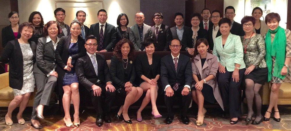 英國保誠(香港)保險有限公司   CEO Self & People Management via mindPower™ Leadership Program (Senior Management), 2015.