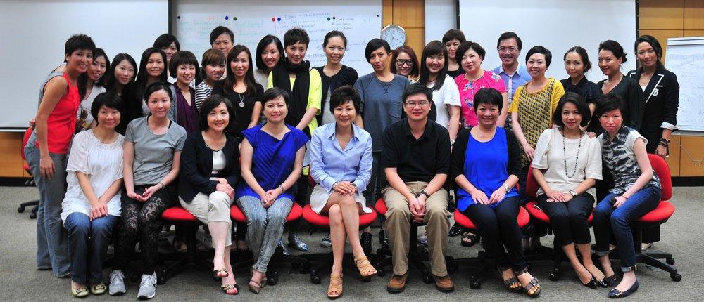資生堂(香港)有限公司   Strategic Workshop via mindPower™ Leadership‑ (Senior Management), 2009.