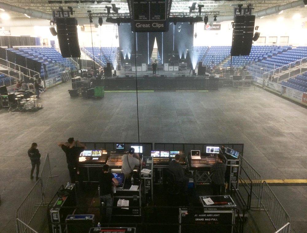 Compuware arena Plymouth Michigan