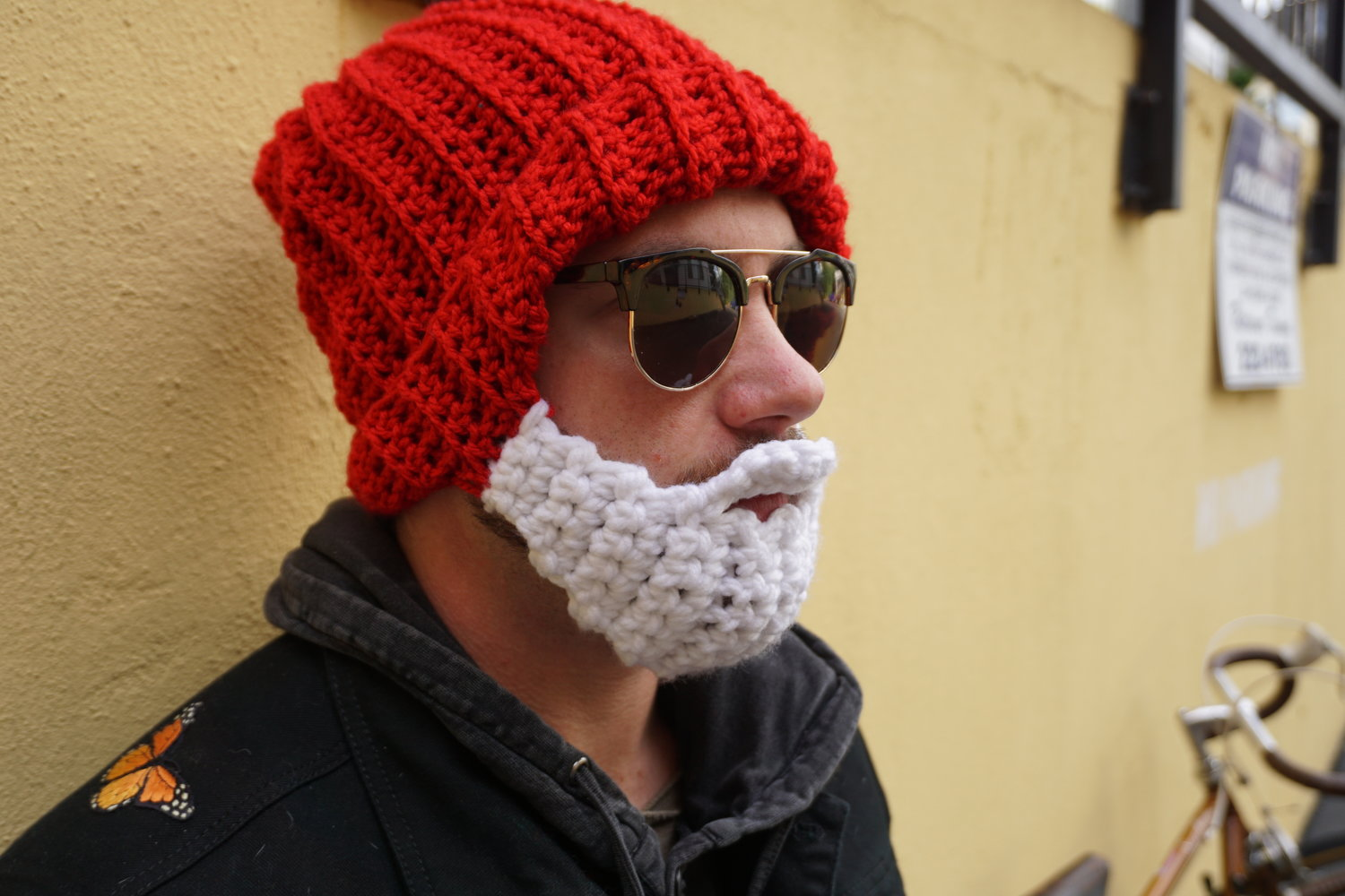 The Steve Zissou Beard Beanie — Oh Silly Sunshine c59ccb821b7