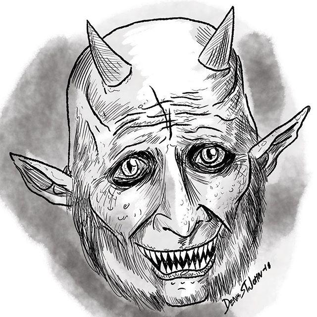 Enemies is up! Meet the demon Skyler, RIP Skyler, don't try negotiating with Faith!. . . #buffy #buffyart #monster #demon #horrorart #btvs #faithlehane #buffydemons