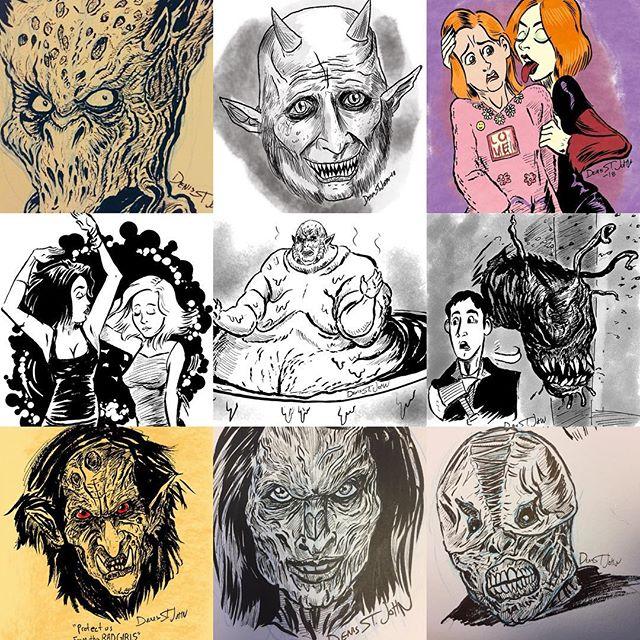Any votes for best season 3 #BuffyFanArt? #buffyart #monsterart #horrorart #buffythevampireslayer