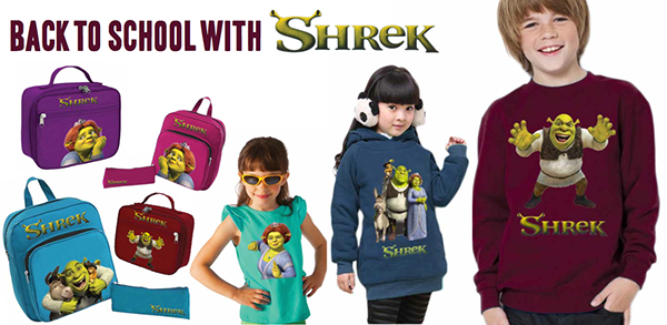 Shrek Back-To-School Ad