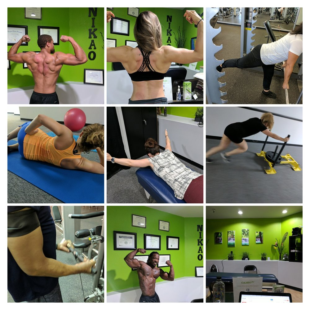 Nikao Performance and Rehab actual patients and clients