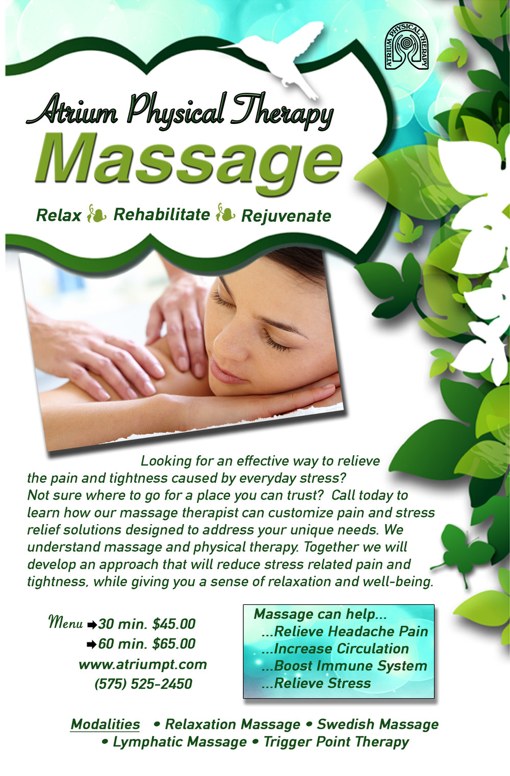 Massage Las Cruces Physical Therapy Pain Management