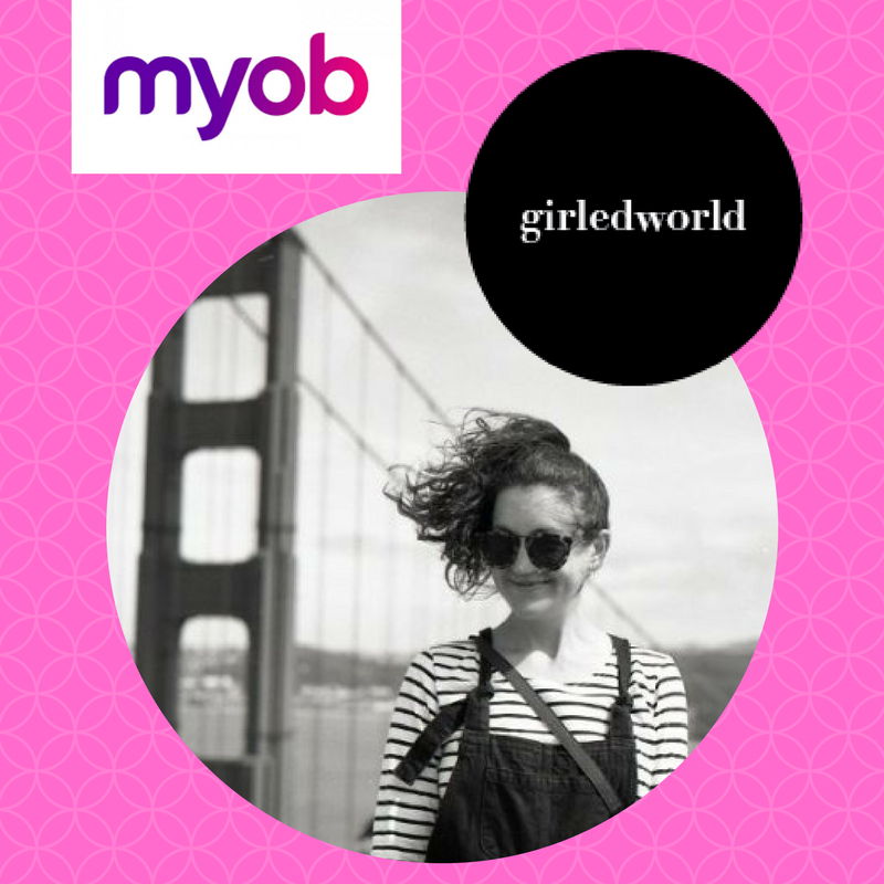 Sarah Hyne - Design Anthropologist + MYOB UX Designer to join the girledworld Summit 2017