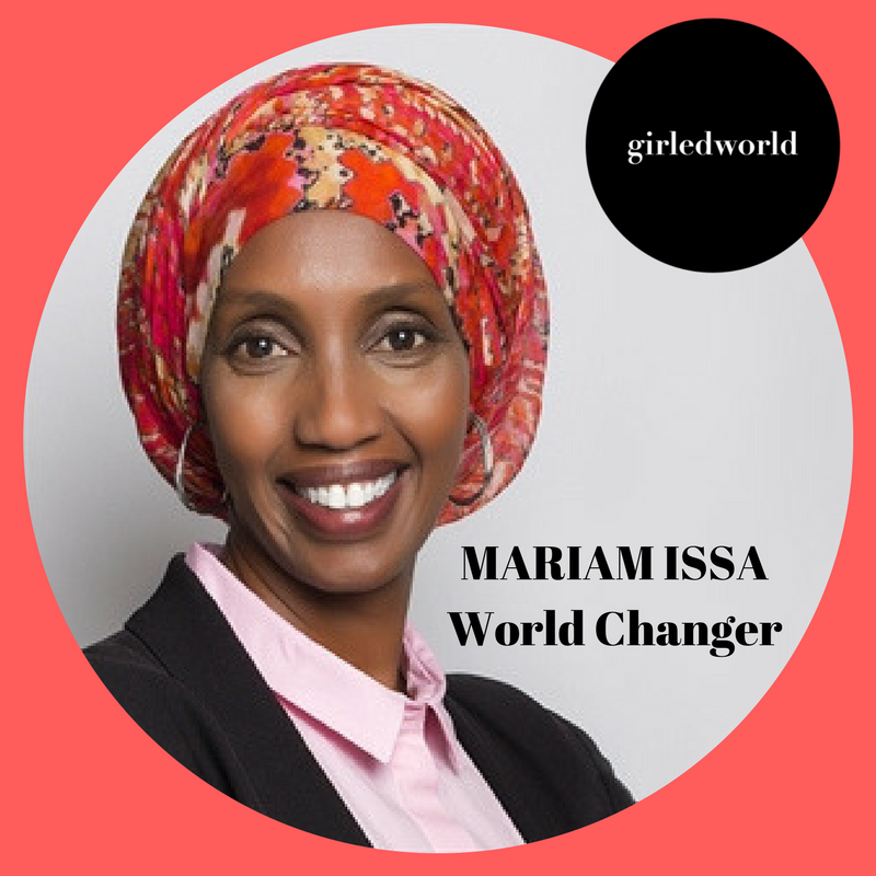 Mariam Issa, leader, social advocate and entrepreneur will join a powerful lineup of female change makers at the girledworld Summit 2017