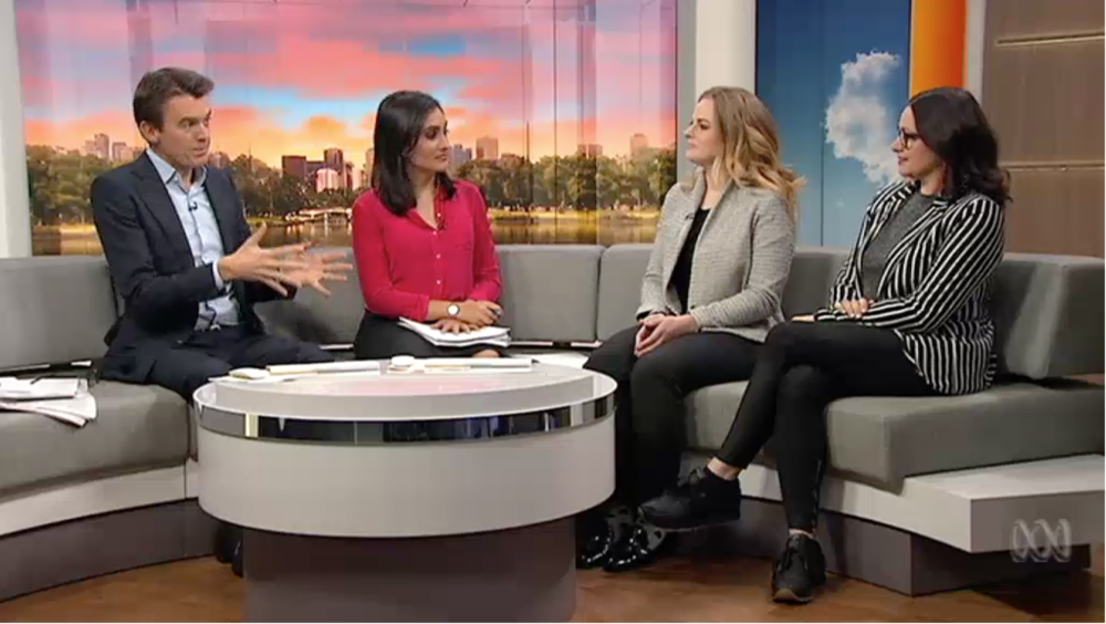 girledworld Co-Founders Madeleine Grummet and Edwina Kolomanski join ABC TV Breakfast News to chat smashing the glass ceiling, closing the gender gap and how they're building the next innovation generation of female leaders and founders. CLICK HERE FOR THE FULL CLIP.