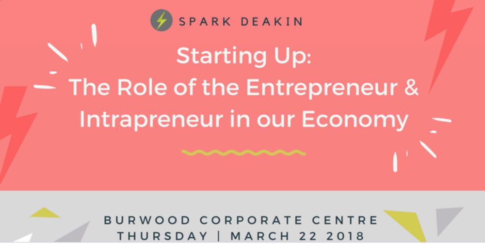Co-Founder and CEO of girledworld Madeleine Grummet joins the Deakin SPARK Panel to unlock innovation, and explore the role of intrapreneurship and entrepreneurship in the new economy.