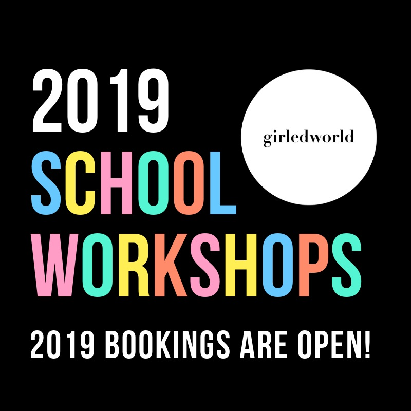 girledworld school workshops