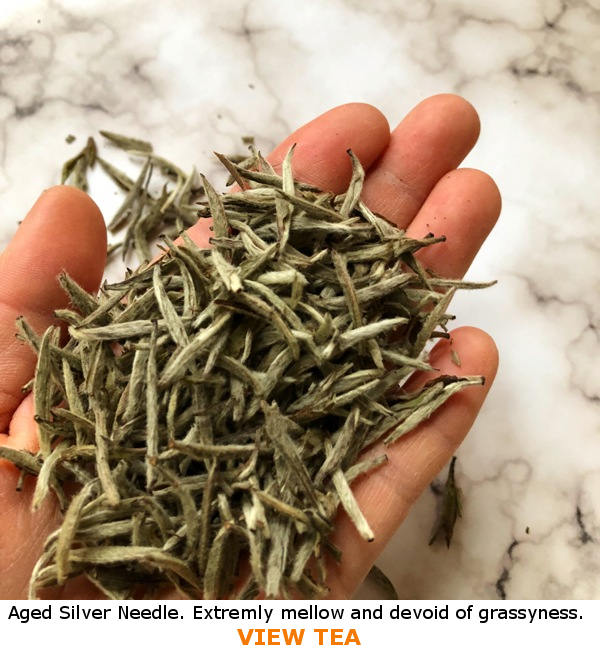 Aged Silver Needle White Tea