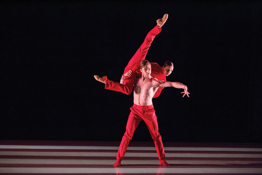 - in Cayetano Soto's 'Huma Rojo' with Samantha Klanac-CampanileAspen Santa Fe Balletimage by Aspen Times