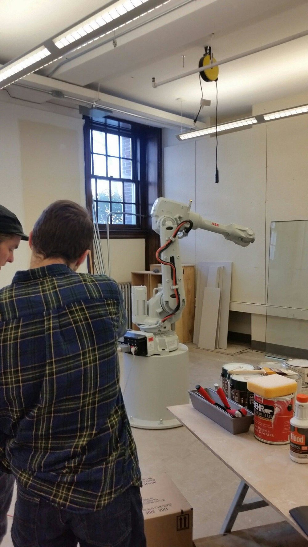 ... RPI School Of Architecture. He Is Involved In A Studio This Semester  That Is Examining The Newly Forming Relationship Between Architecture And  Robotics.