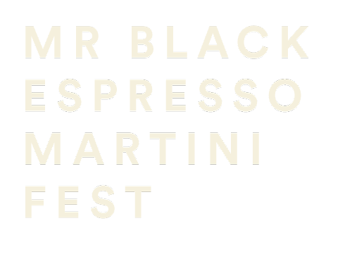 Mr Black Espresso Martini Festival