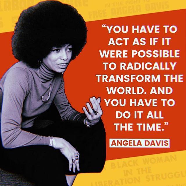 Happy Birthday Angela Davis!!! 🎁