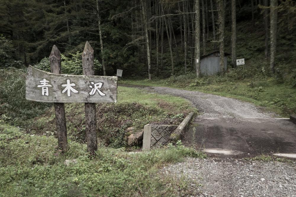 Aokizasawa Pass, near Chino, central Nagano prefecture.