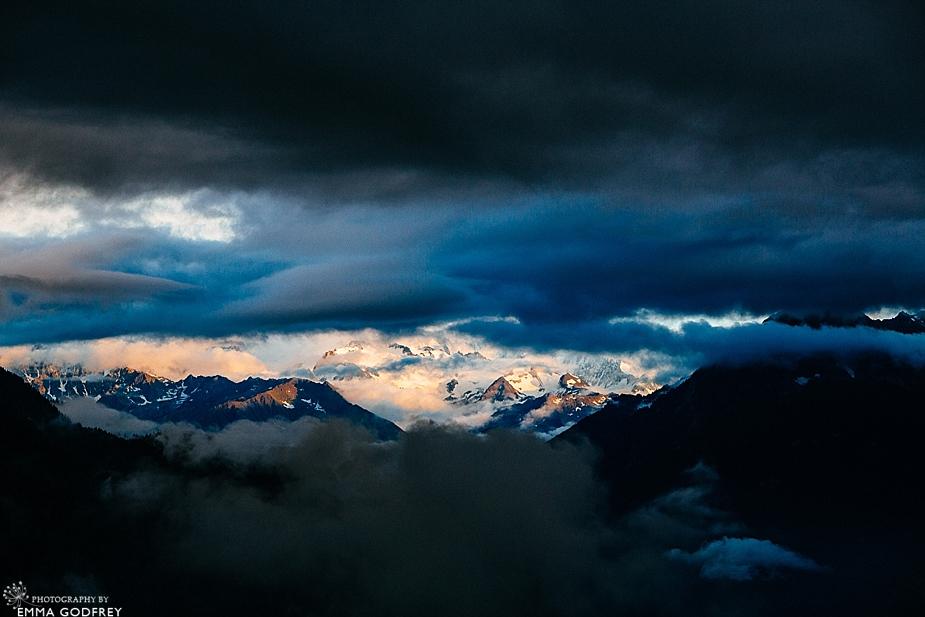 Chamonix from Villars