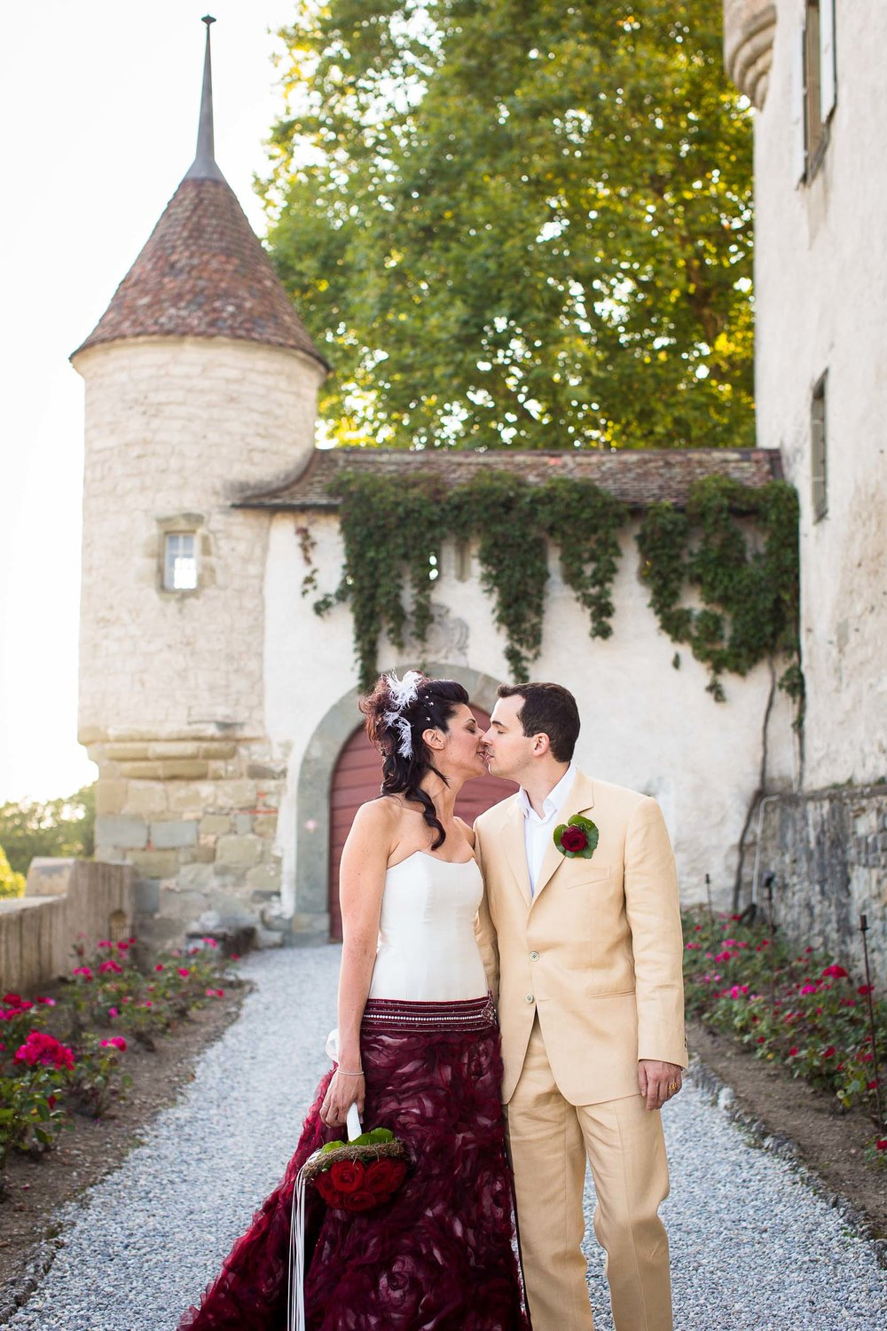 Château d'Oron castle wedding 08