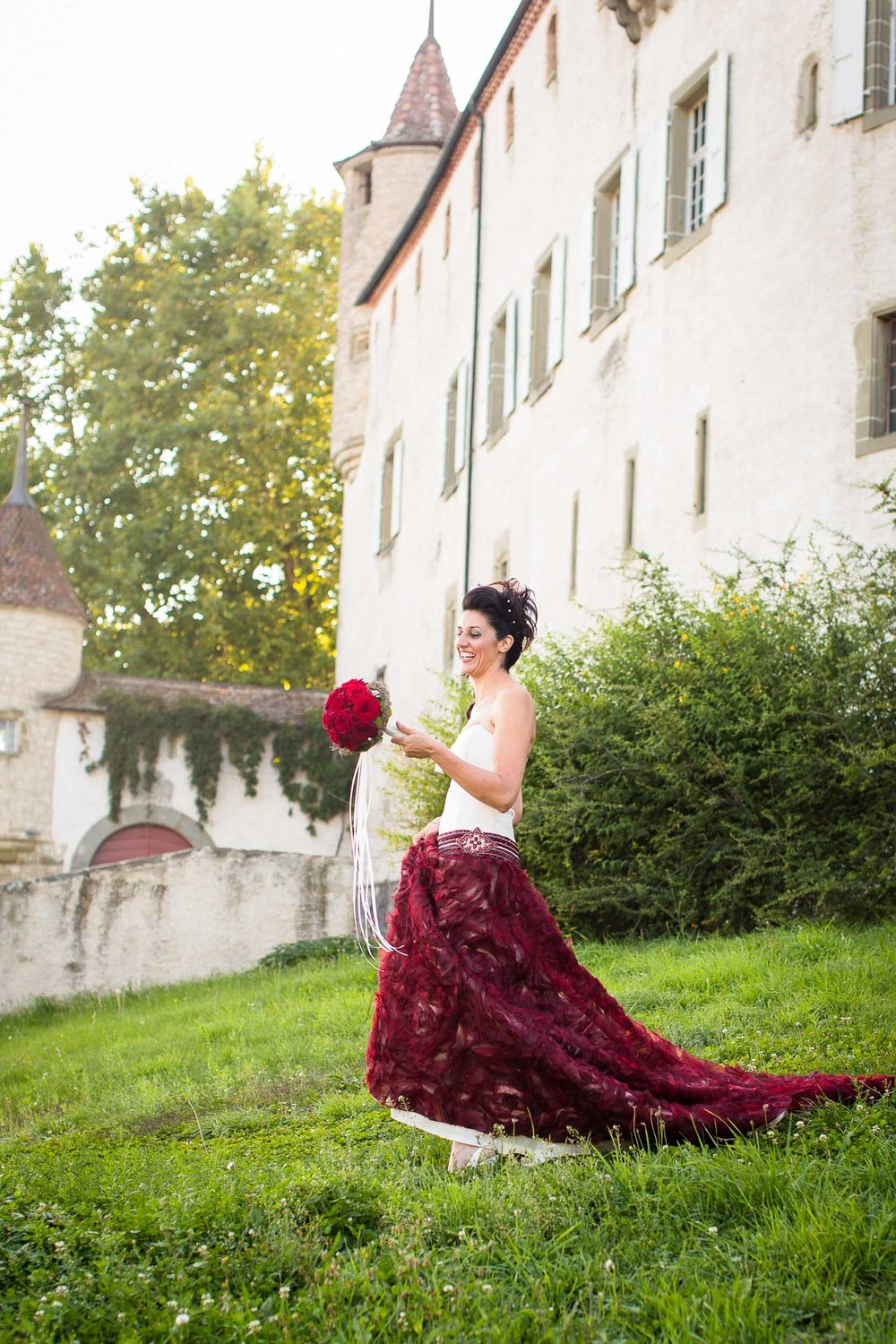 Château d'Oron castle wedding 09