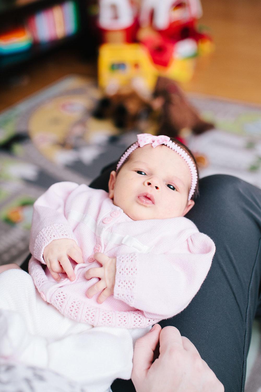 Baby girl newborn portraits 02