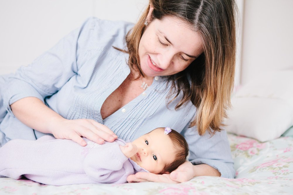 Baby girl newborn portraits 05