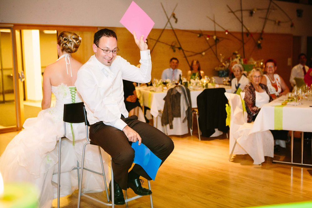 Top wedding reception games in Switzerland, Elle et Lui