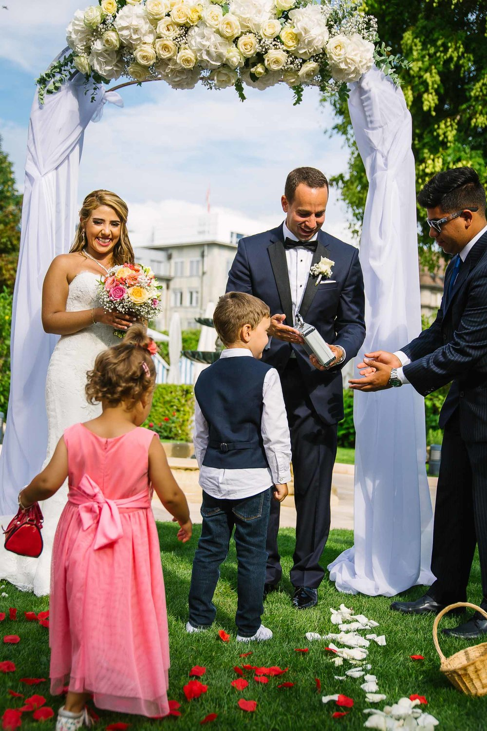 Enjoy every minute of your wedding ceremony without worrying about delays.
