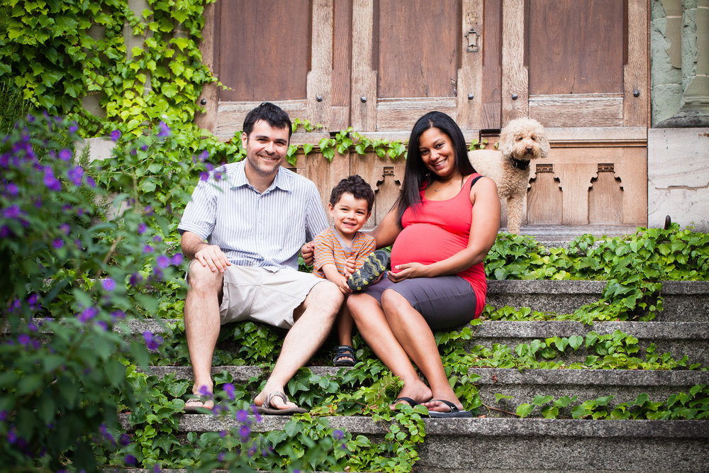 Maternity shoot in summer 12