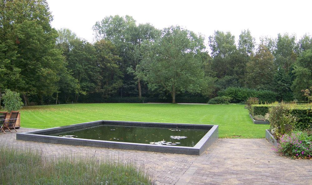 Renovatie Smalle Tuin : Renovatie van de tuin bij het catshuis u bleeker nauta