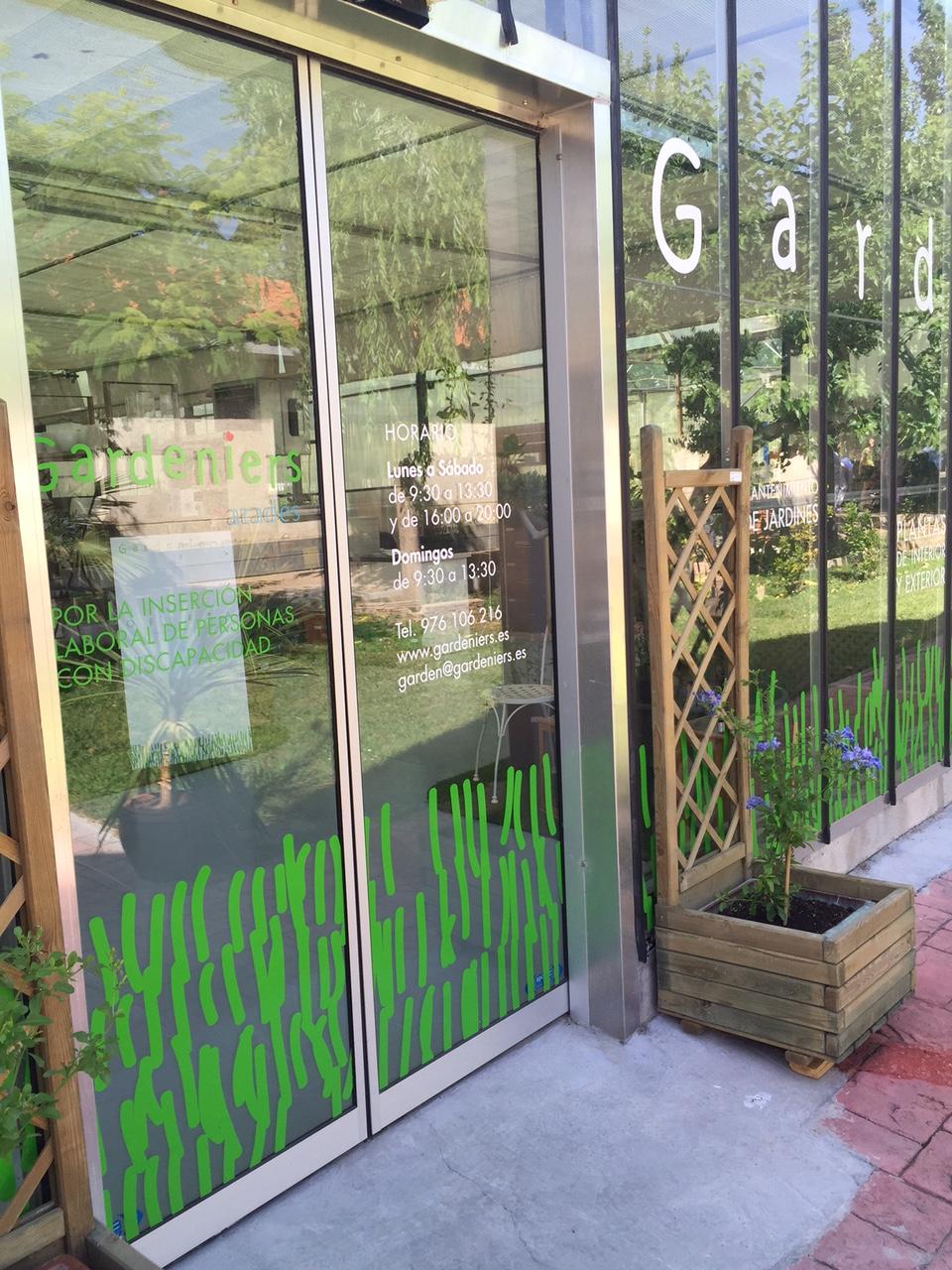 Un gran centro de jardinería en Zaragoza