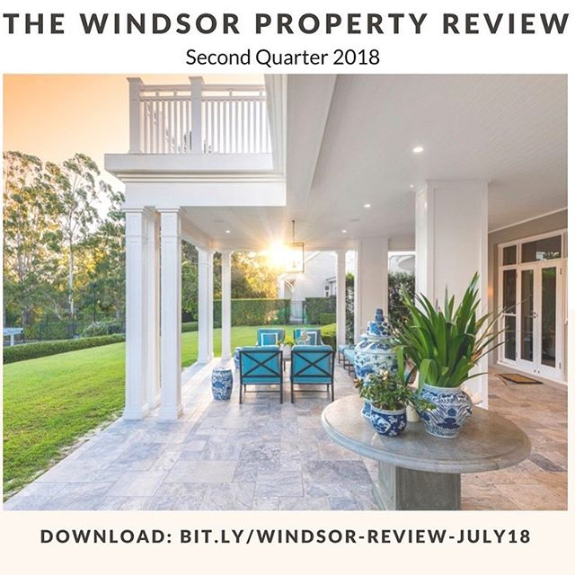 HOMEOWNERS ⚠️ Do you own property in Windsor? Where is your property price heading in light of the Banking Royal Commission, lowering auction clearance rates and tighter stock levels? 🕵🏼 Find out where your property sits in this MUST read comprehensive property report 📈 The Windsor Property Review ~ 2nd Quarter 2018 by Steven Webster 🏡🏡 💻 LINK IS IN MY BIO ——  🎉