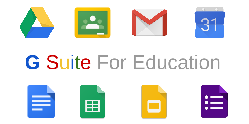 Image result for g suite apps for ed