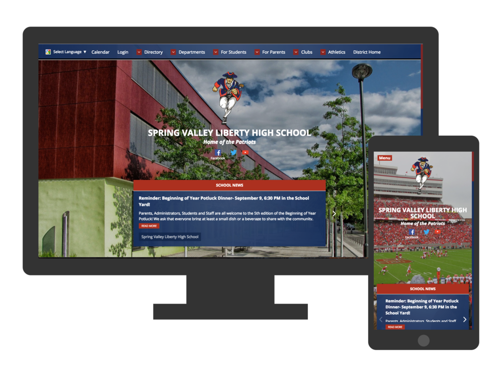 Responsive Design Website Example