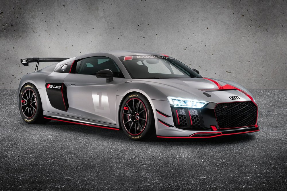 Audi R8 LMS GT4 Race Car