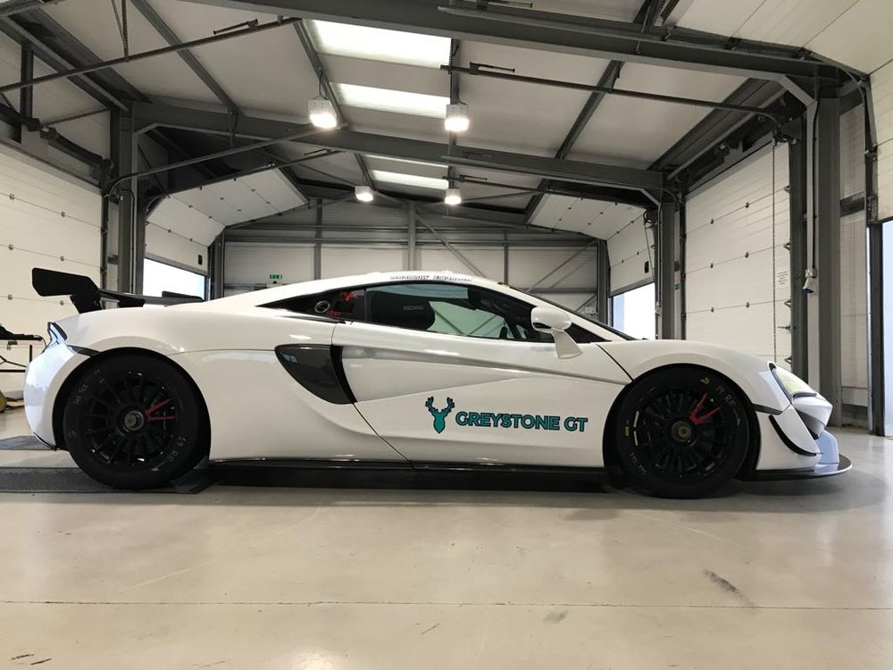 The stunning McLaren 570S GT4 has featured at most Greystone GT events
