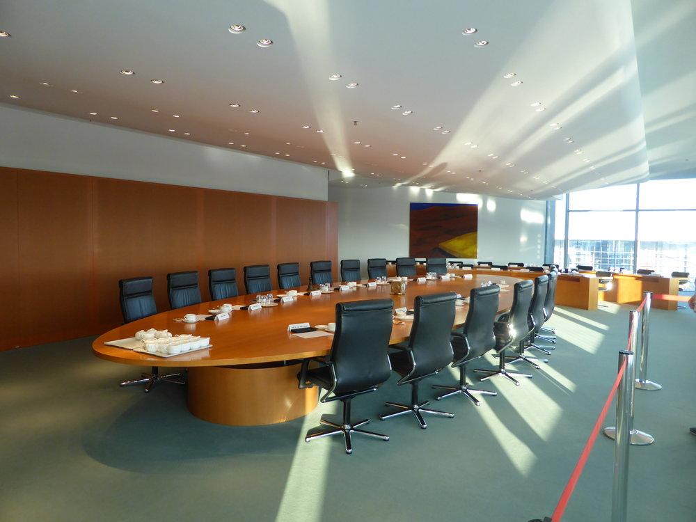 Der Kabinettsaal.