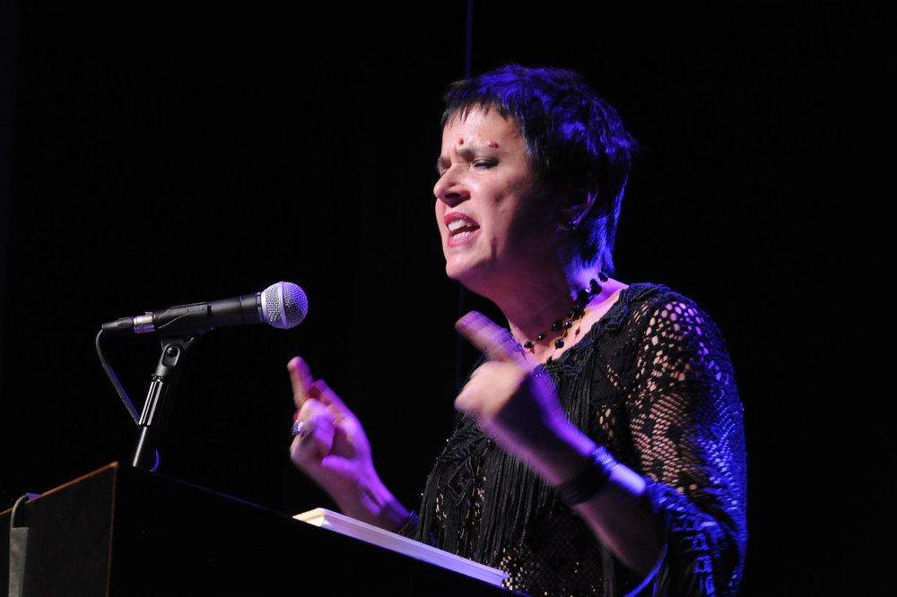 Eve Ensler in LOCAL Body of Work photo by Michael Ensminger.JPG