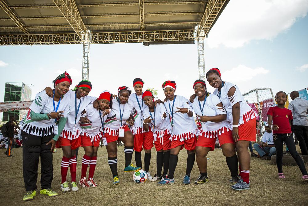 THe Soccer divas, mombasa - goals 2 & 16 -