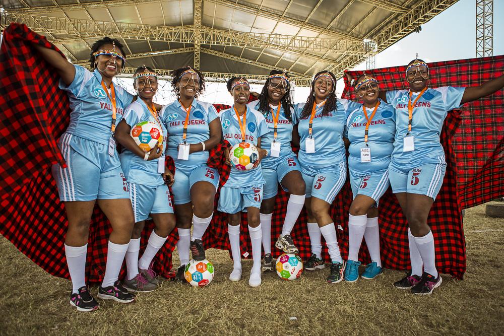 YALI Queens - goal 5-