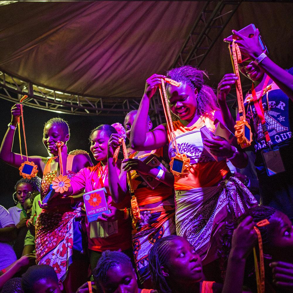 Winning team - Nairobi