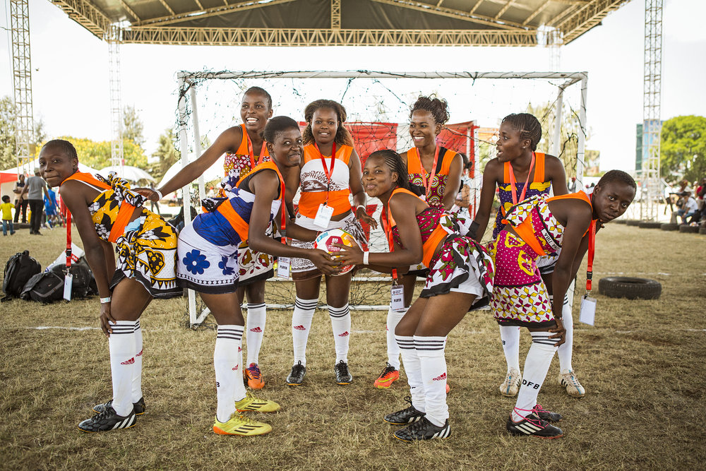 MOVING THE GOALPOSTS playing for goal 5: Gender Equality The winners of the Nairobi tournament. Young women from the Kilifi Coastal Region. https://www.mtgk.org/