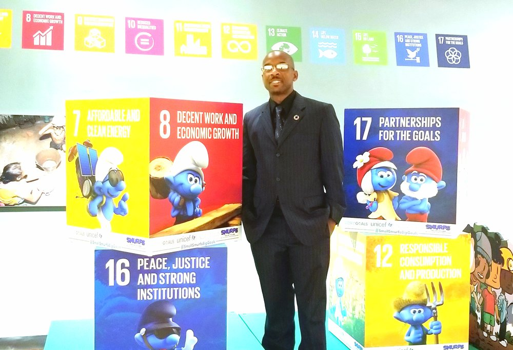 Roger Worme is the passionate founder of SDG Changemakers.