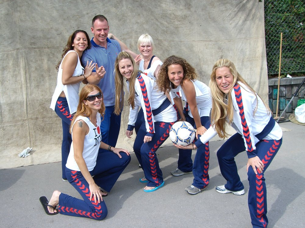 STAR STRIKERS Playing for goal 5: Gender Equality This team of badass feminists from Denmark, US and Canada will tell it straight. @mettedyhrberg