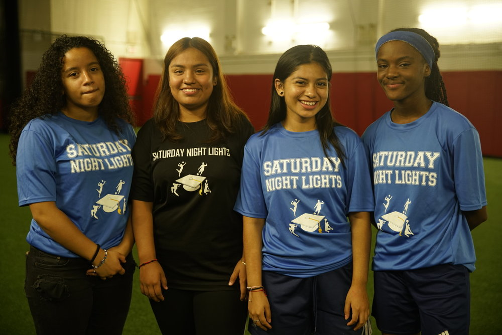 "At the Global Goals World Cup a select number of ""Next generation"" teams are invited to play. The young ladies from Saturday Night Lights is one of two youth teams in the tournament."
